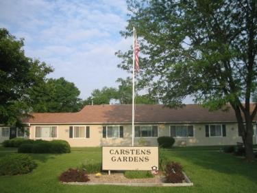 Carstens Gardens  Banner
